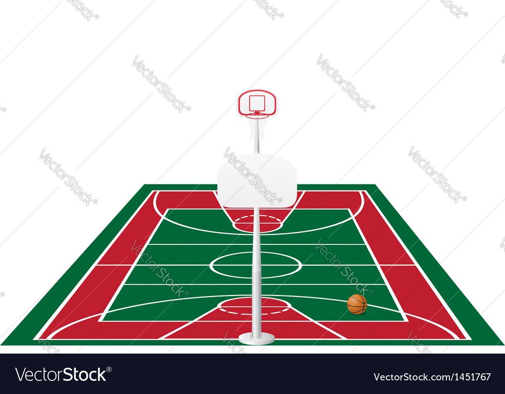 Basketball 02 vector