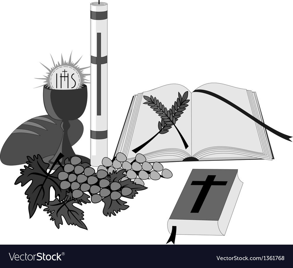 Symbols and religious signs vector
