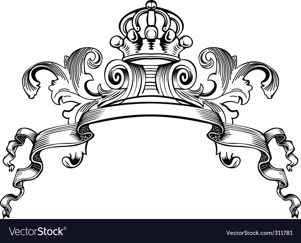 Decorative banner vector