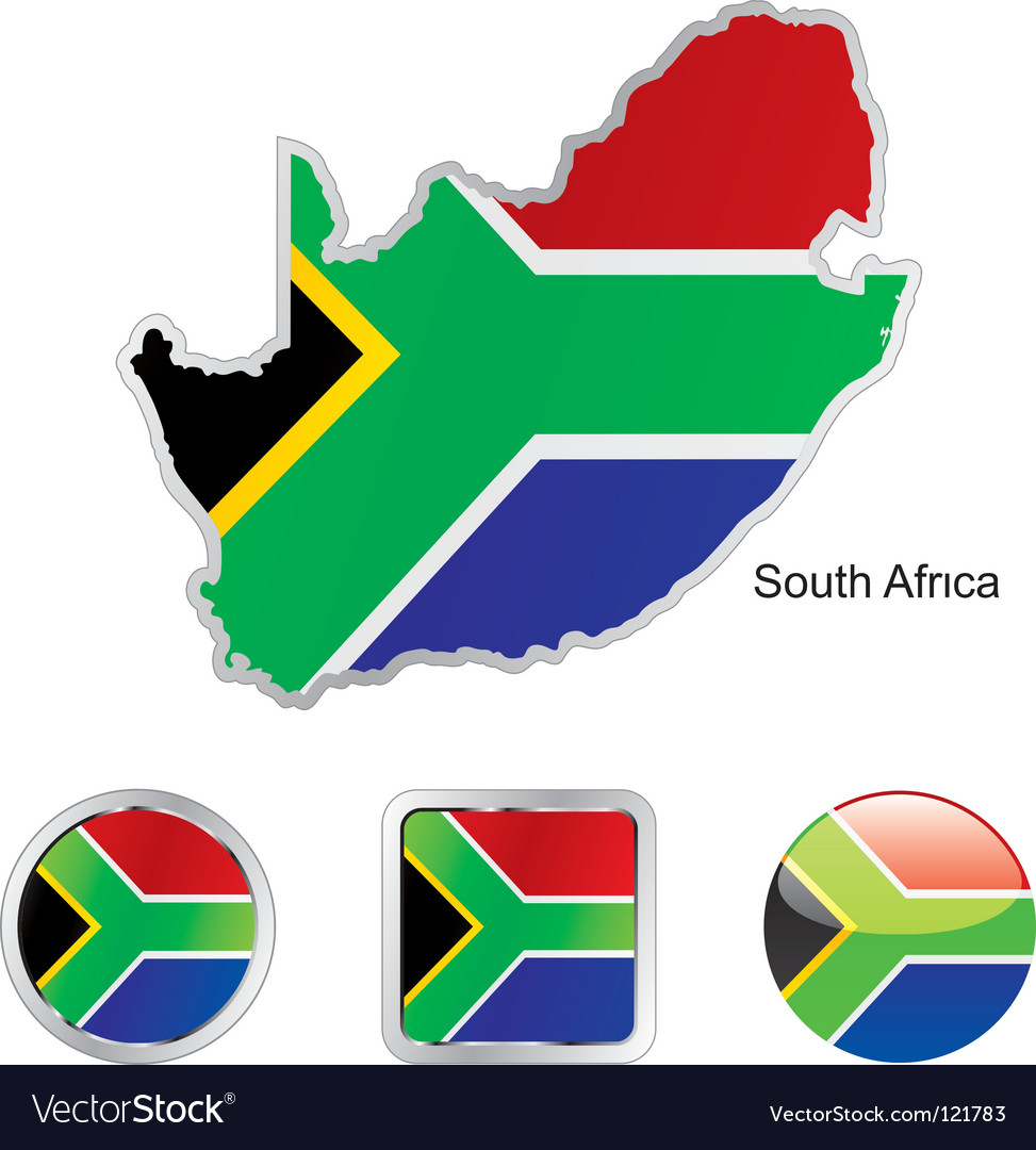 South africa vector
