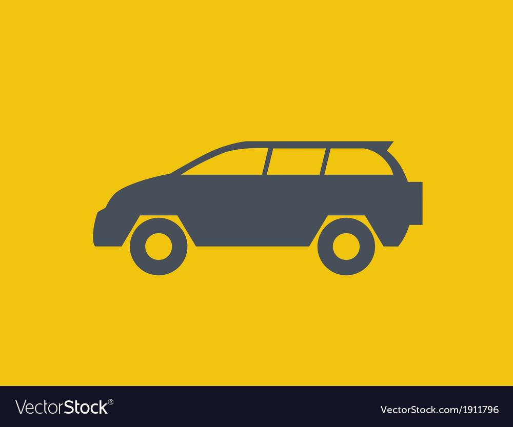 Transportation flat icon vector