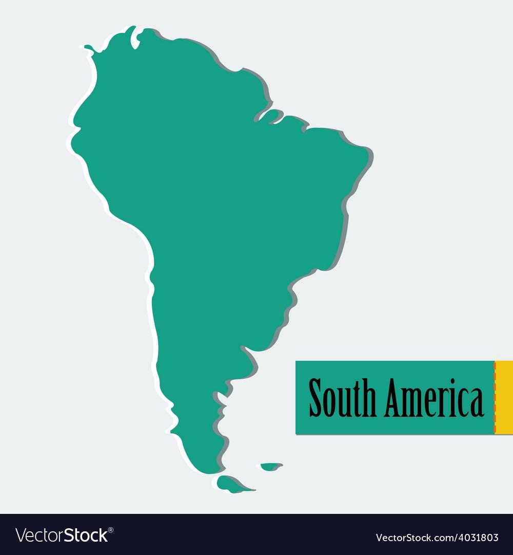 South america vector