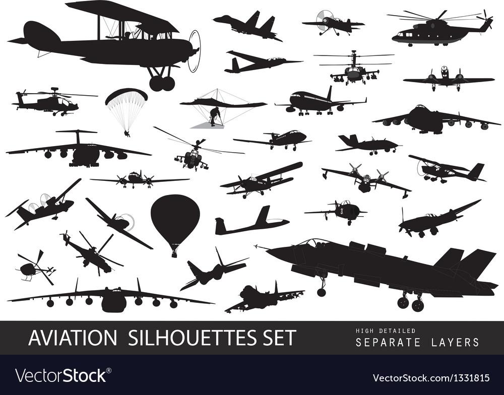 Aviation vector