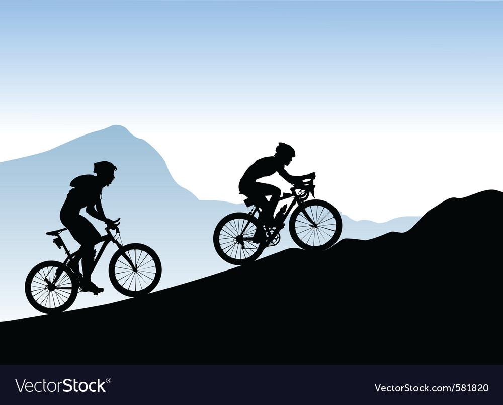 Bikers vector