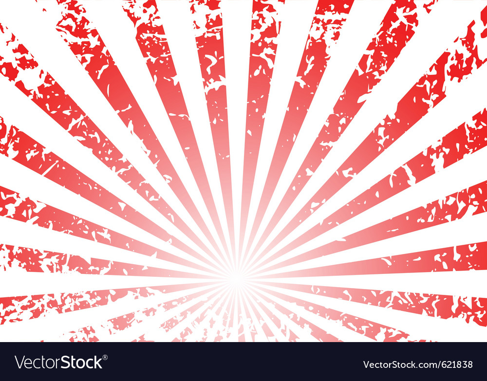 Grunge sunrise background vector