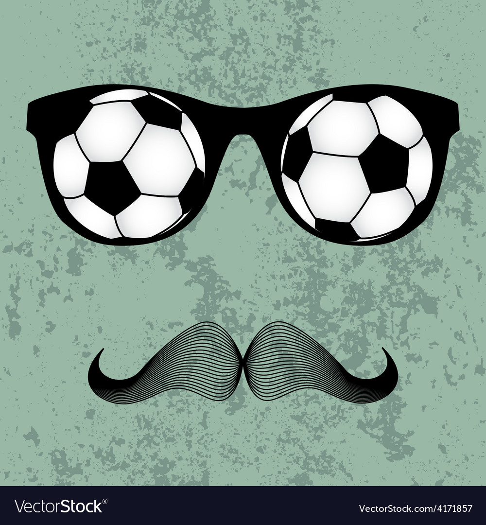 Hipsters glasses vector