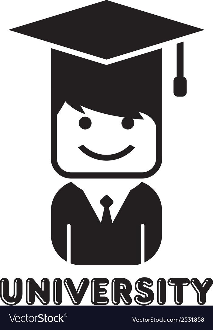 People portrait icon vector