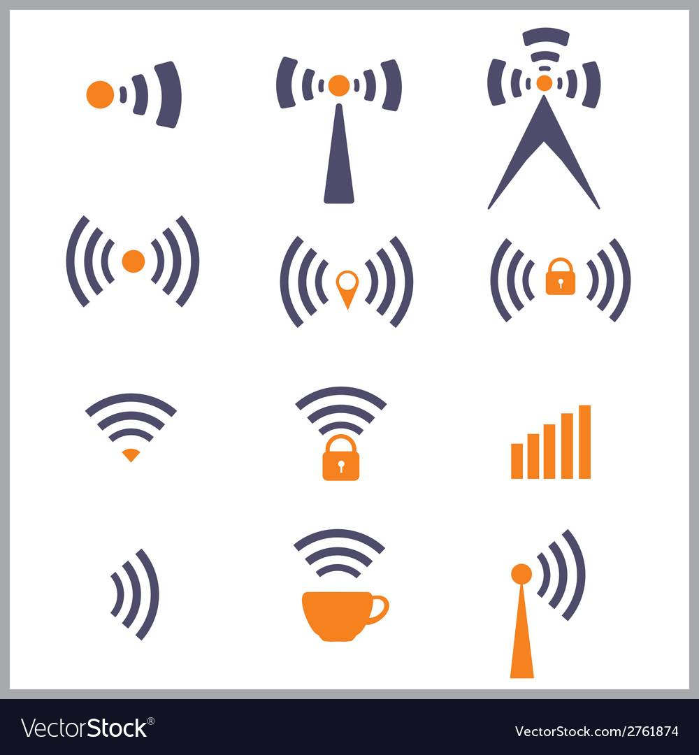 Wireless network symbol vector
