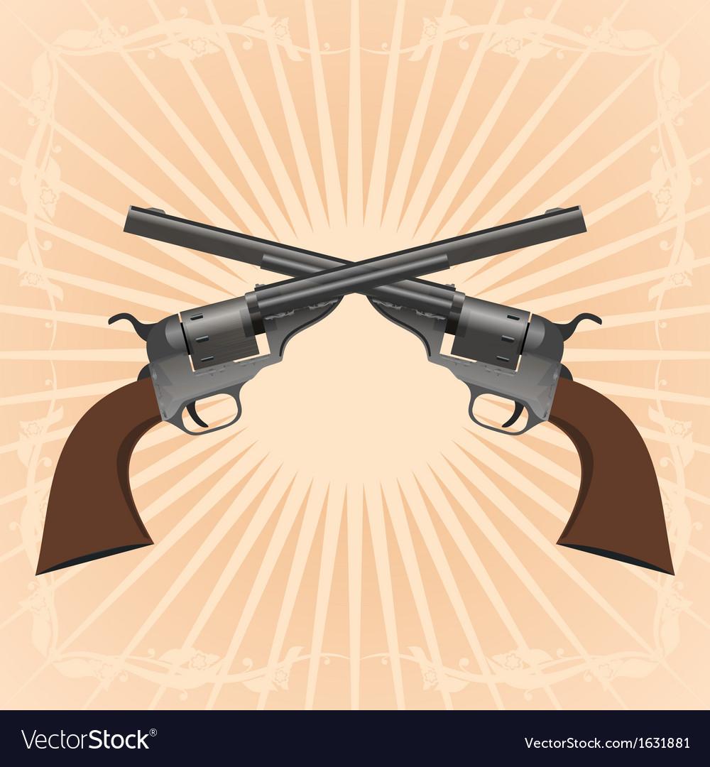 Revolvers vector