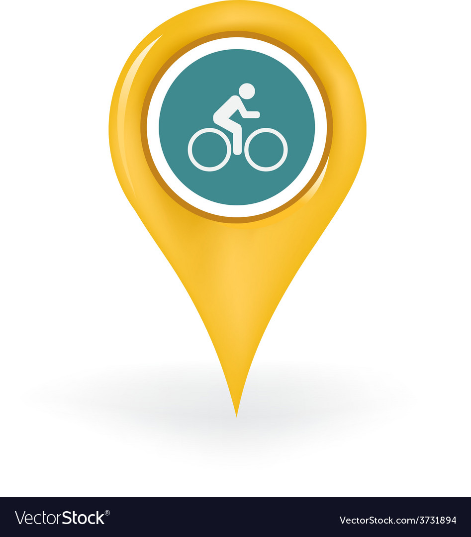 Biking location vector