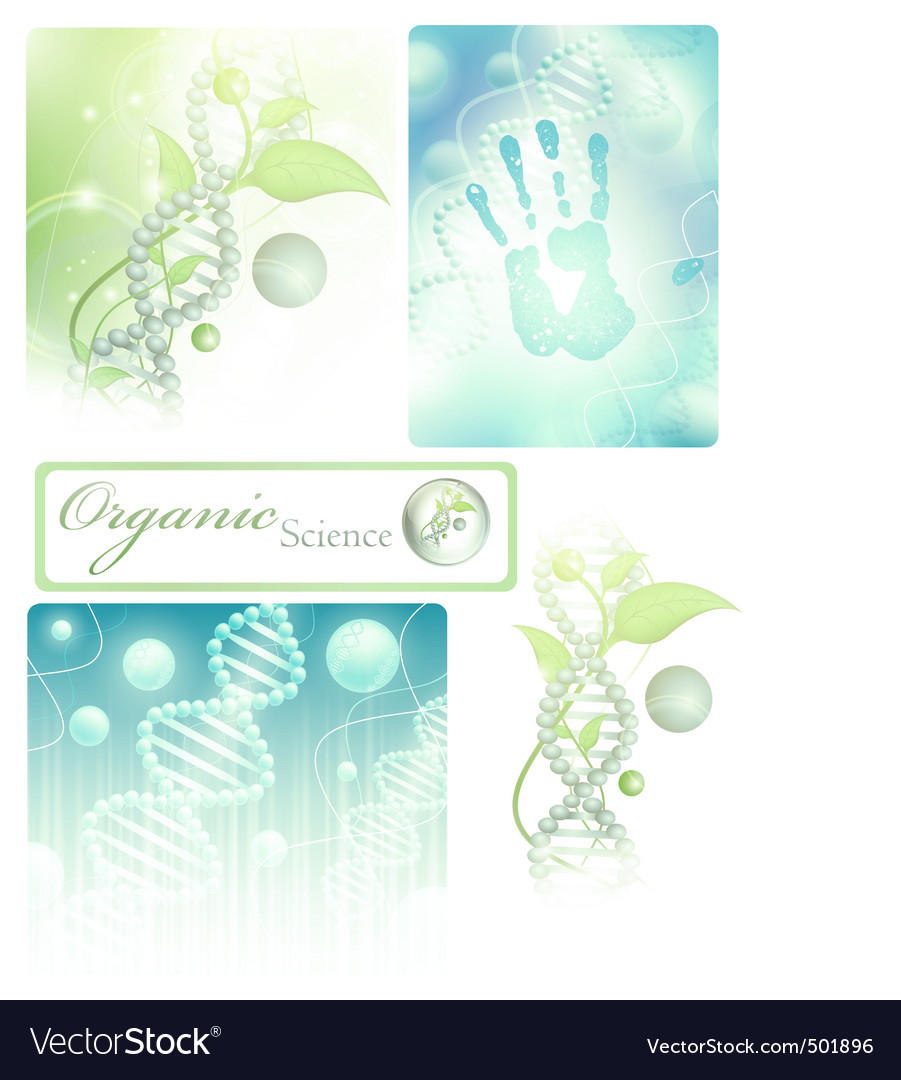 Science collection vector