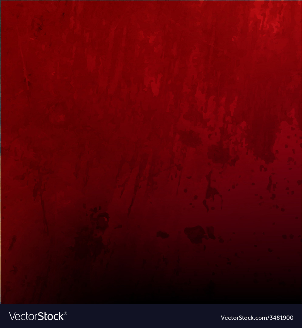Red grunge texture vector