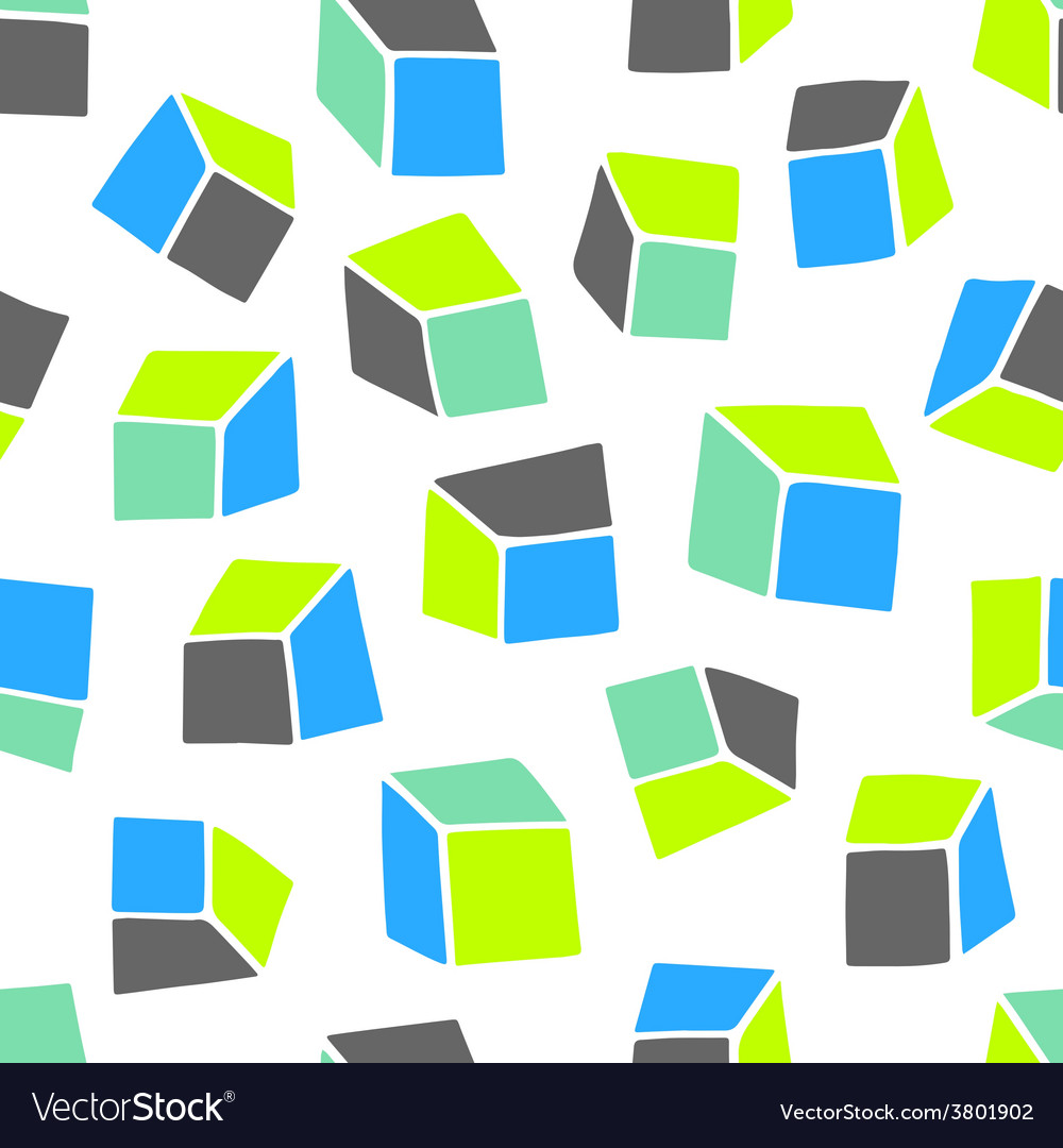 Abstract pattern seamless geometric wallpaper vector