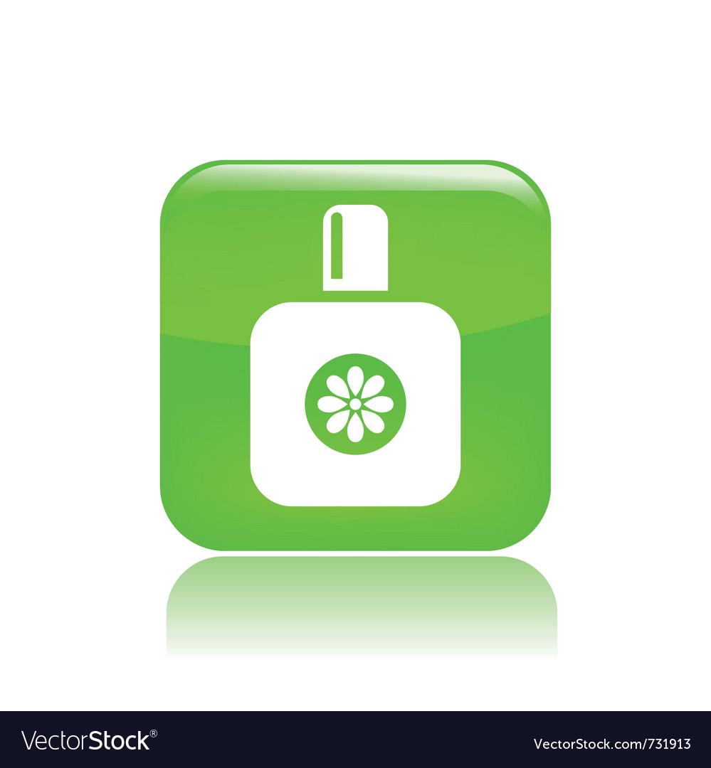 Perfume concept vector