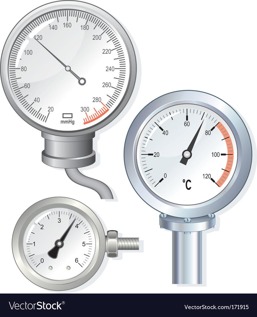 Dial bars vector