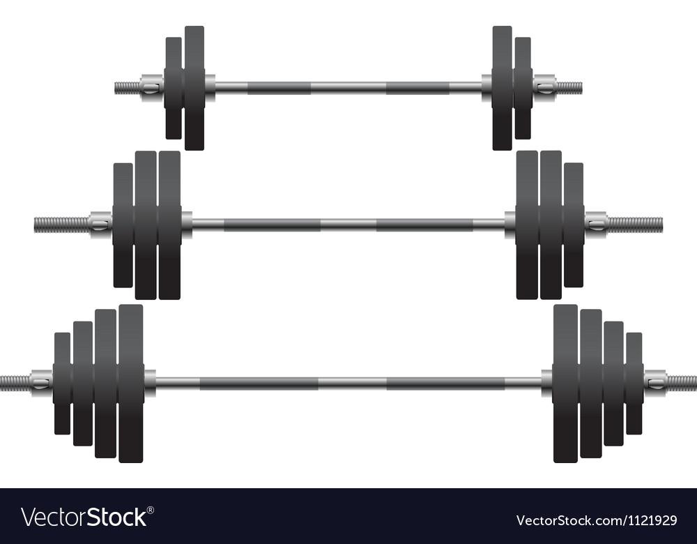 Set of weights vector