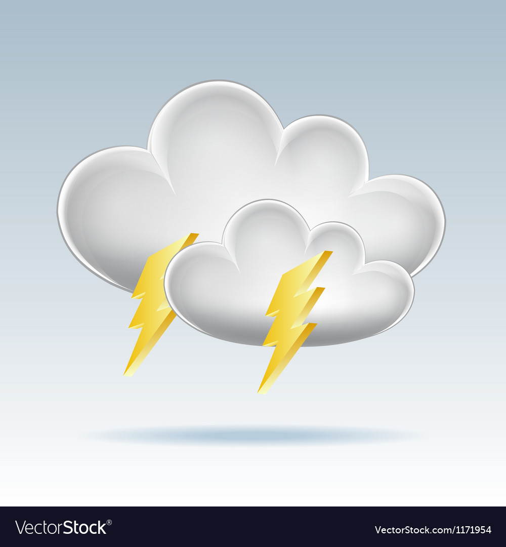Cloud icon vector