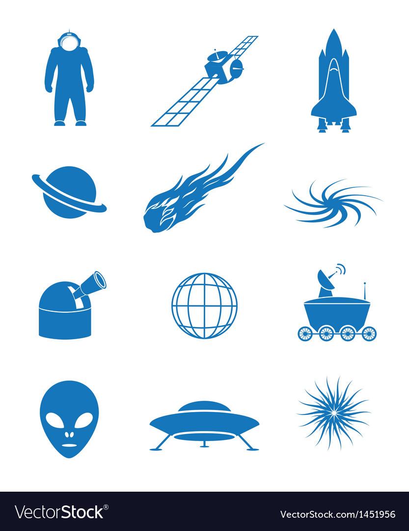 Astronautics vector