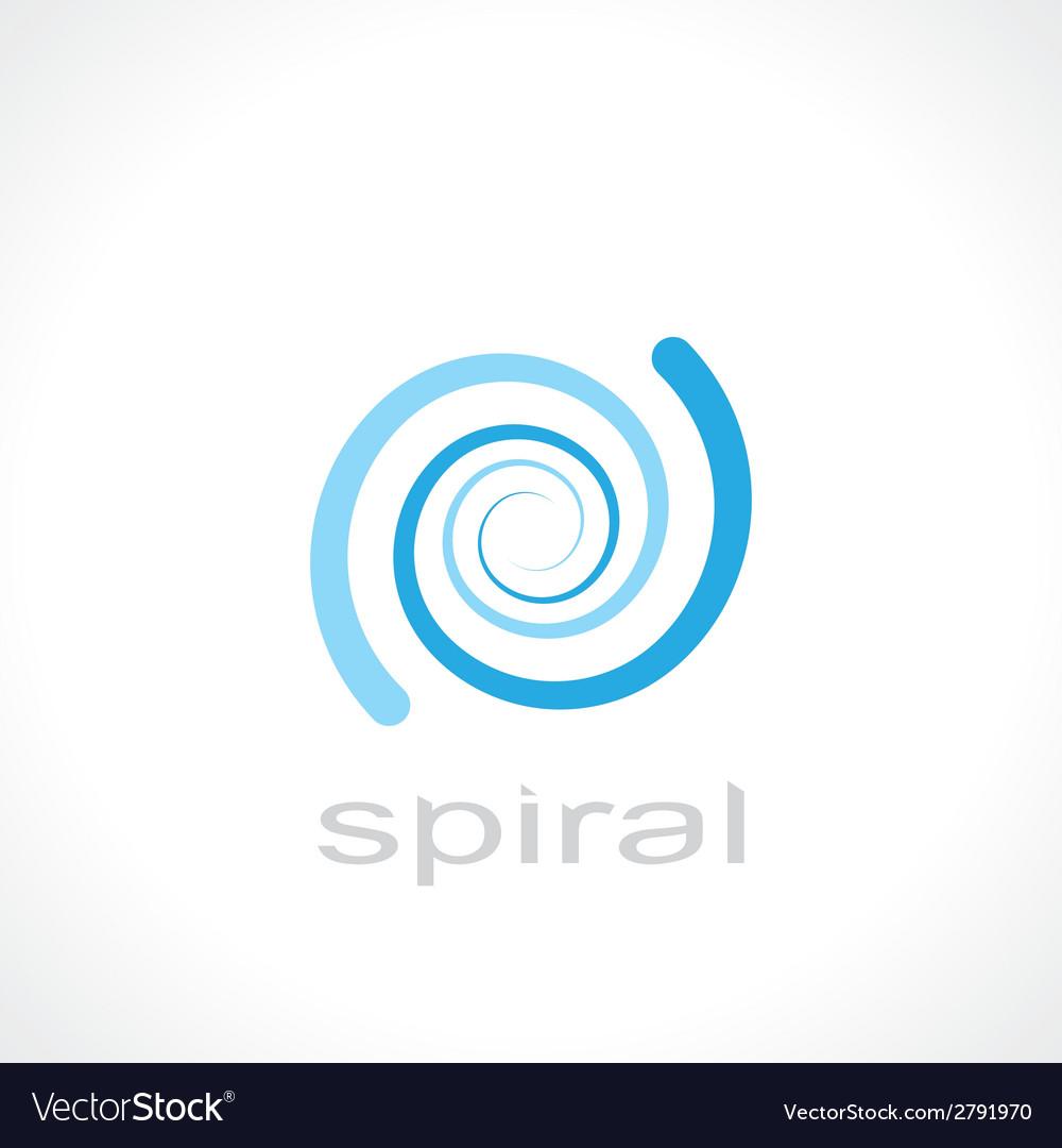Spiral symbol vector