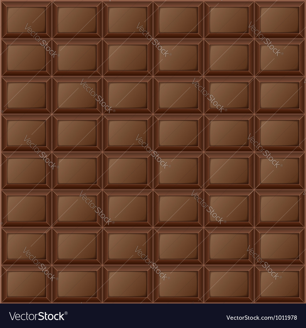 Background chocolate bar vector