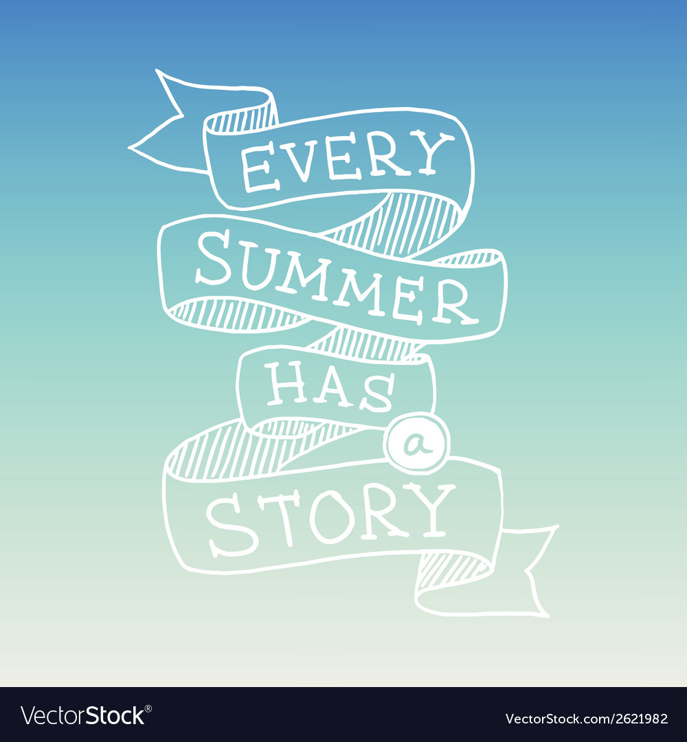 Hand-drawn-summer-quotation-vector