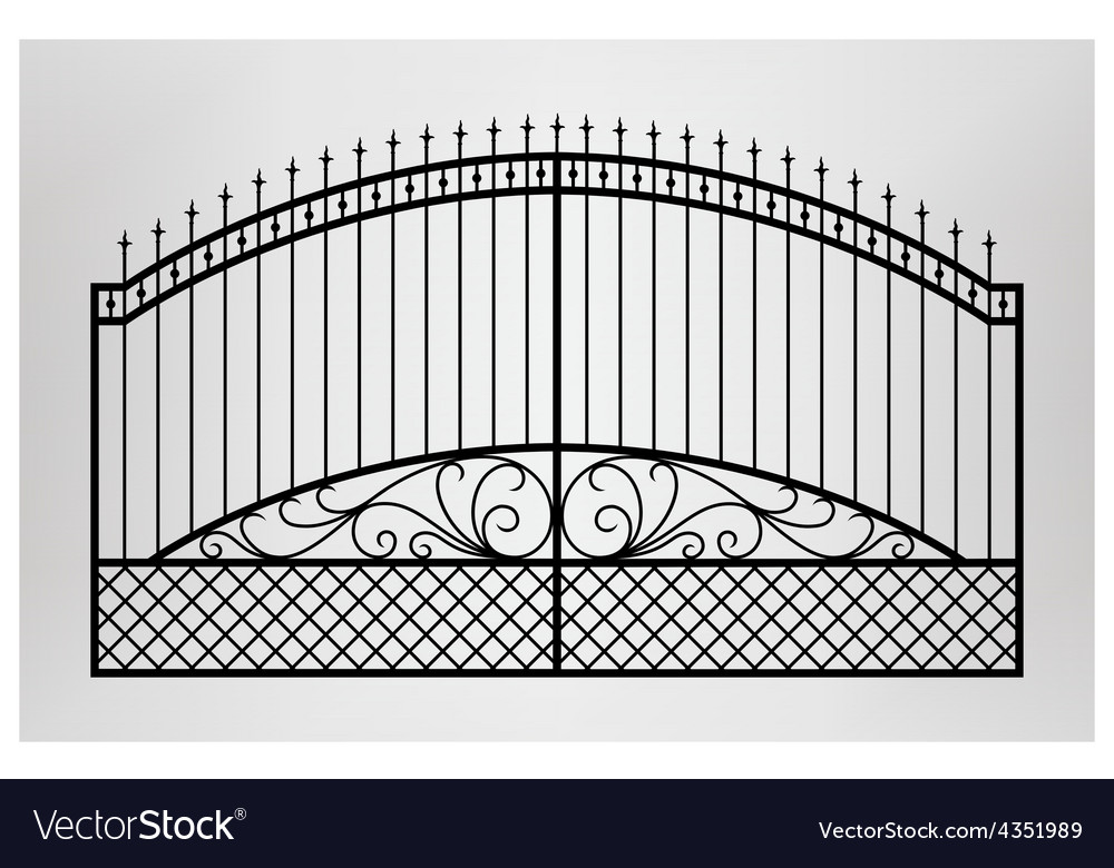 Forged gate vector