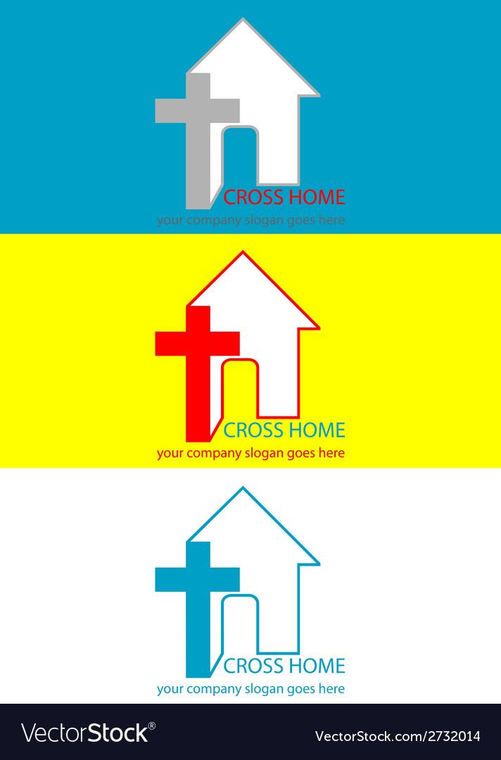 Logo christian vector