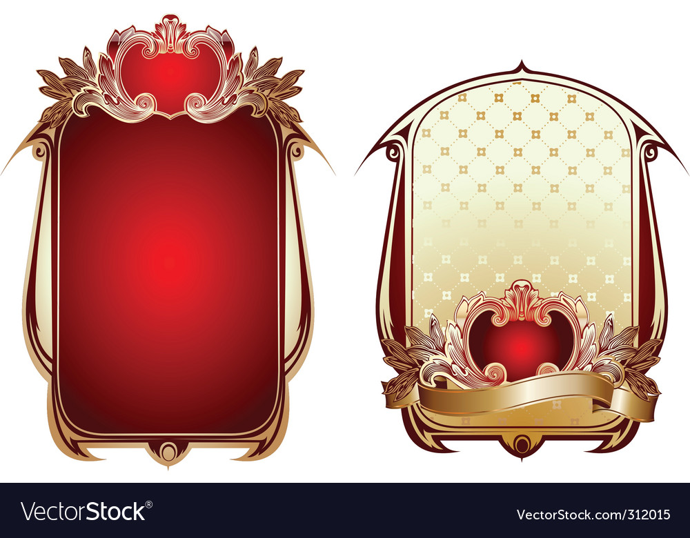 Ornate backgrounds vector