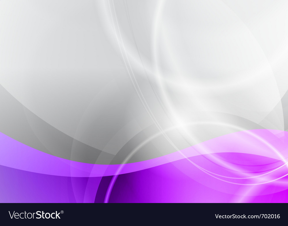 Purple and grey wave abstract background vector