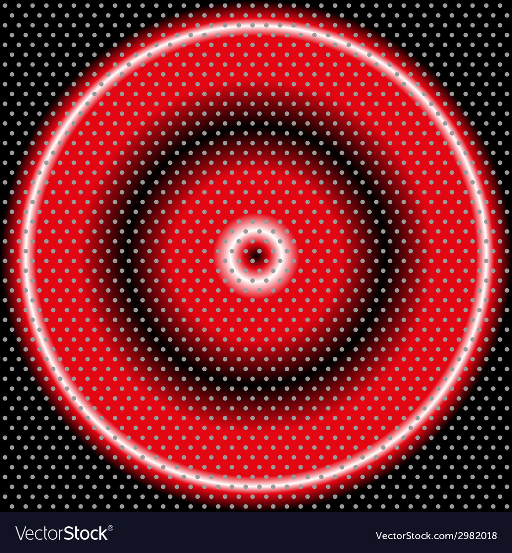 Circle abstract background with halftone vector