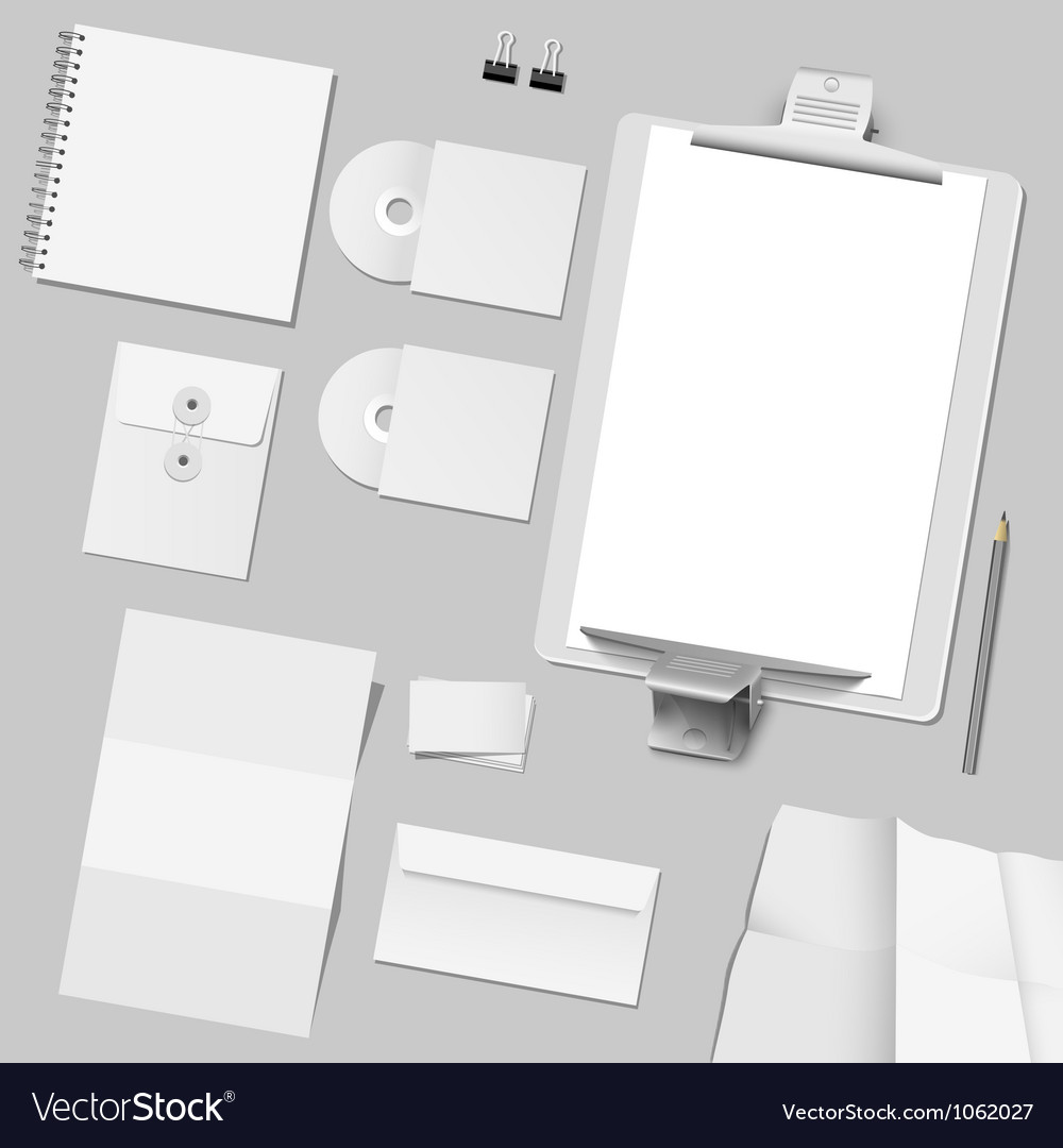 Corporate template design vector