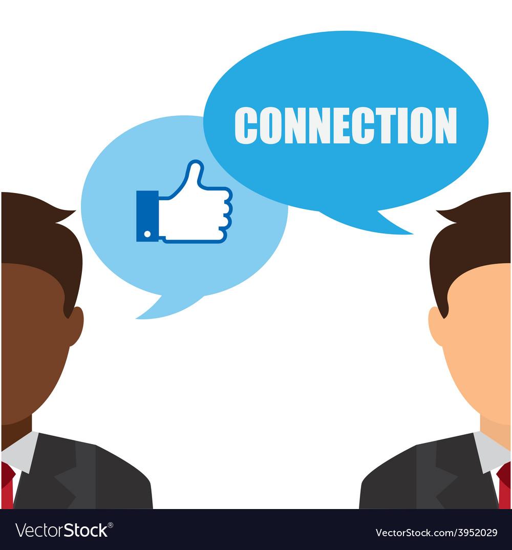 Social net working vector