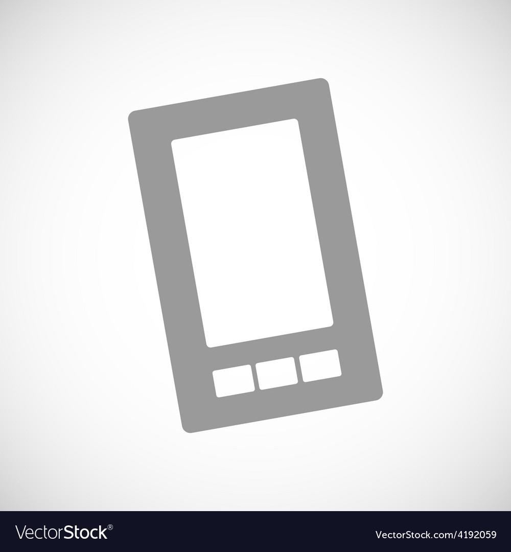 Telephone black icon vector