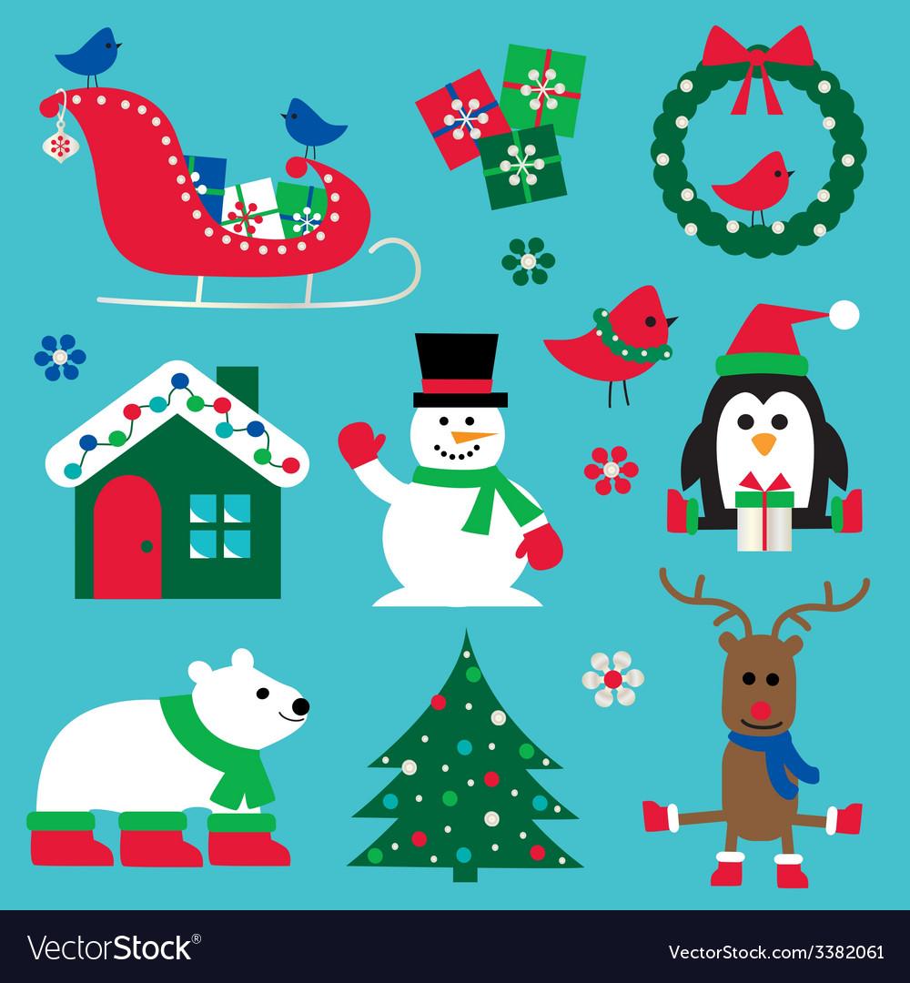 Christmas clipart vector