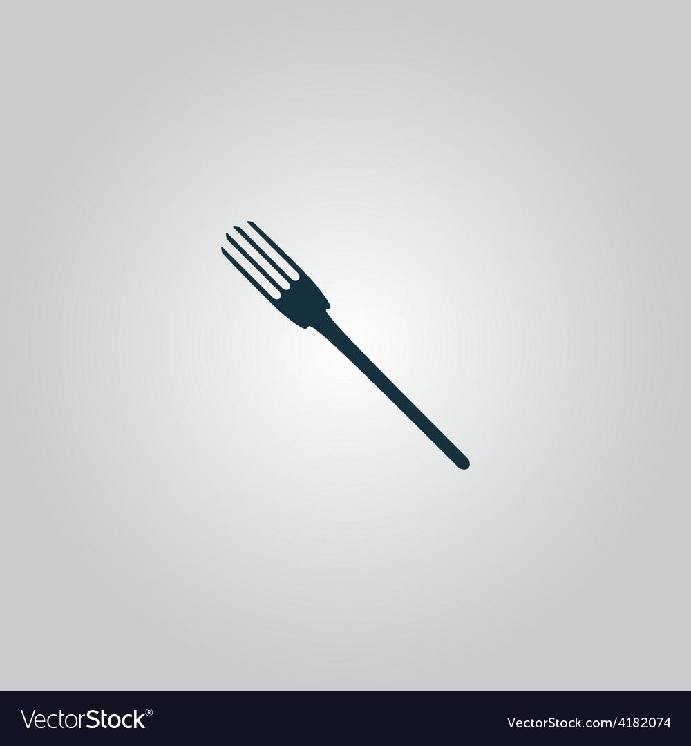 Fork icon vector