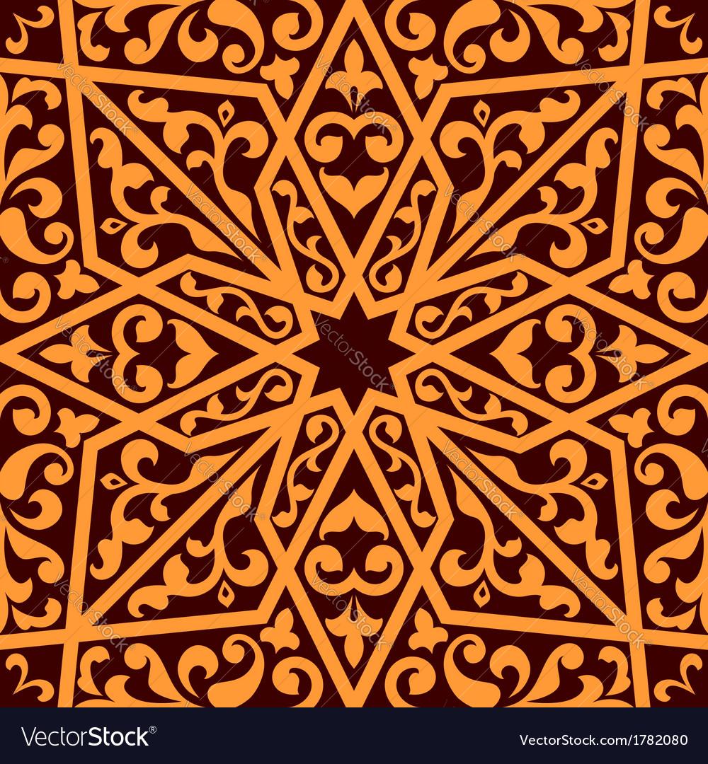 Islamic or arabic seamless pattern vector