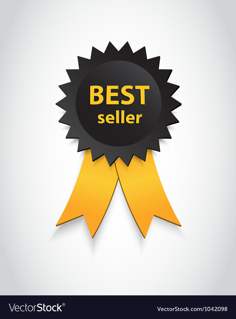 Best seller vector