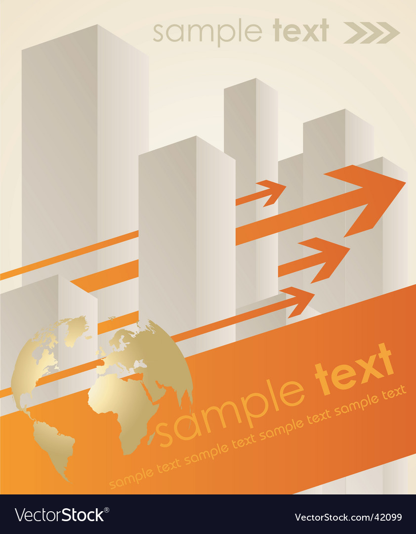 Business concept background vector