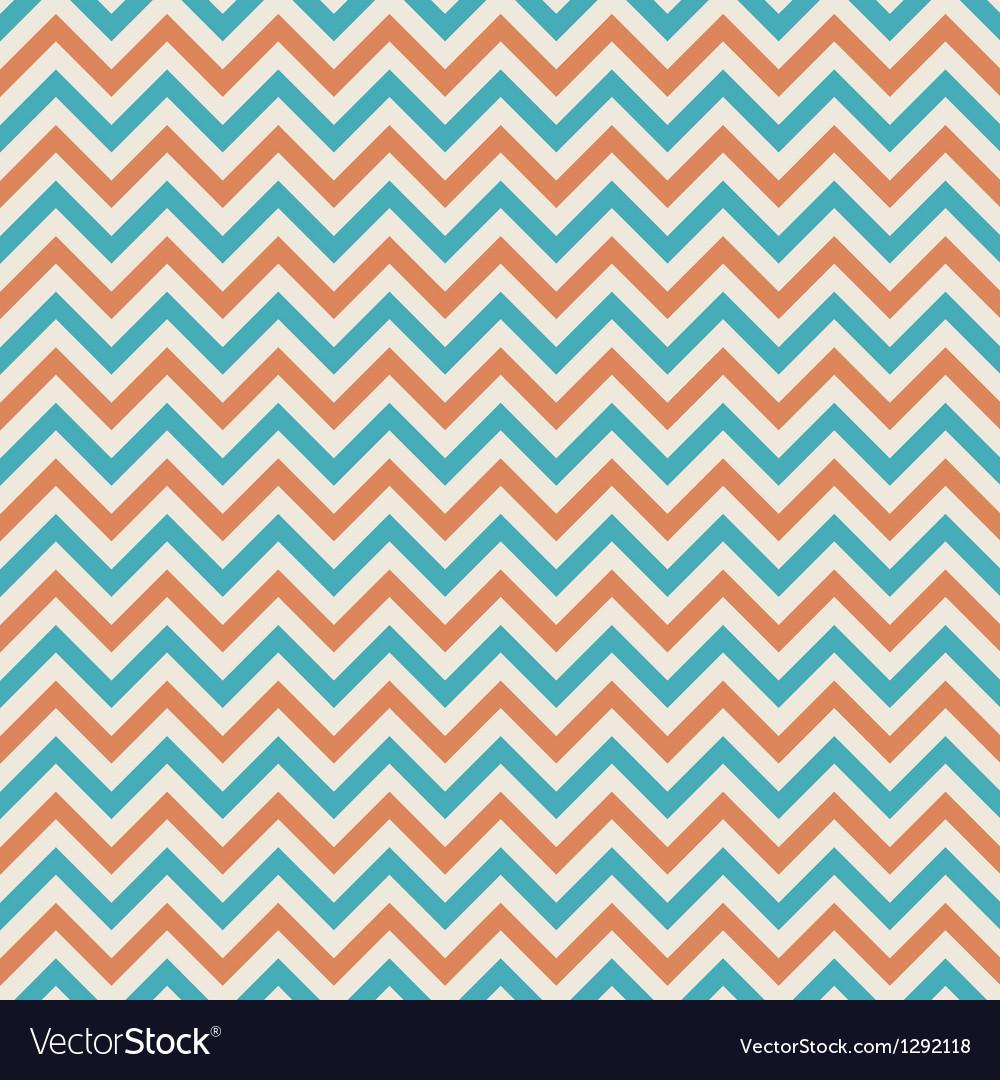 Colors chevron pattern background retro vintage vector