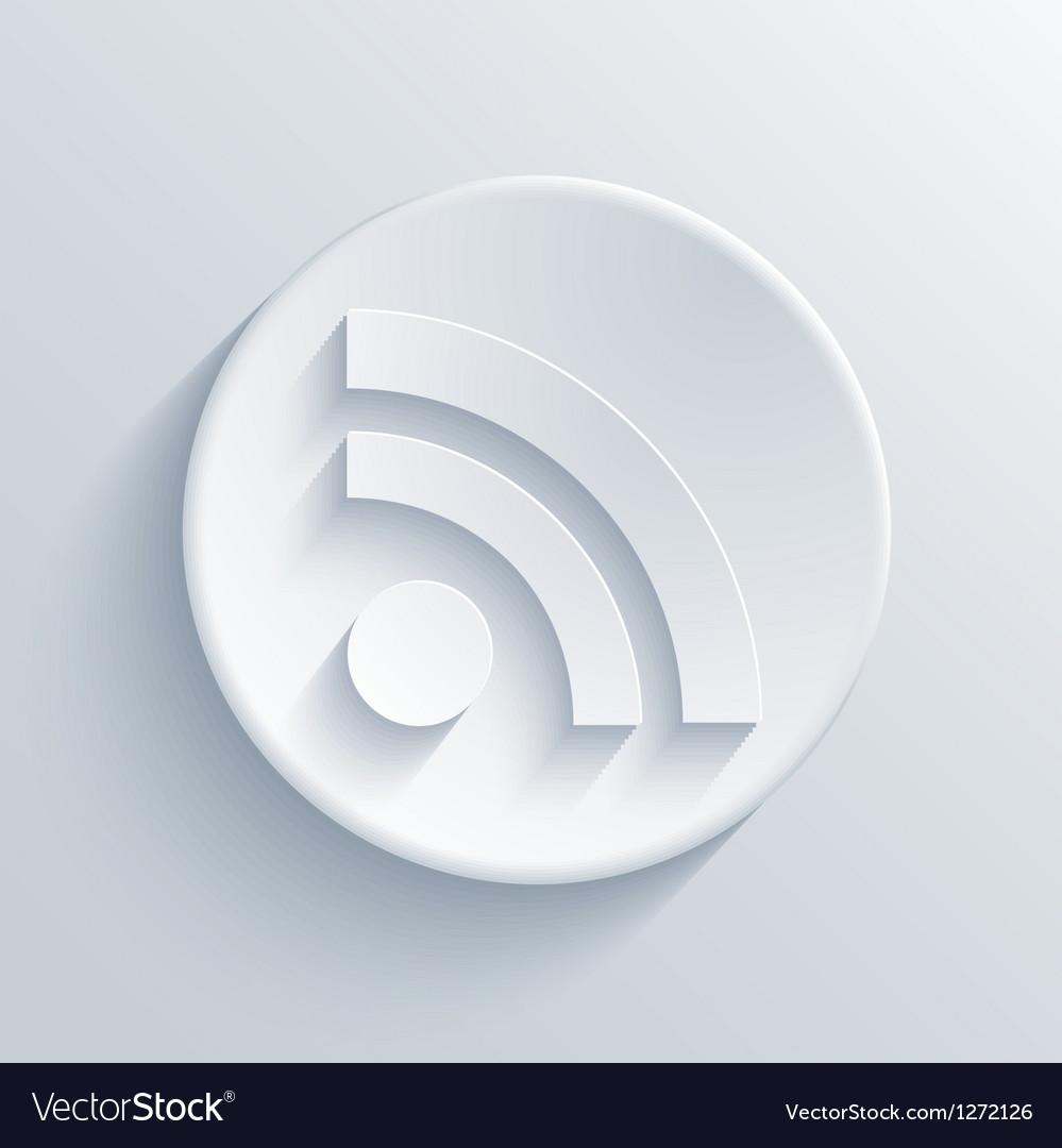 Light circle icon vector