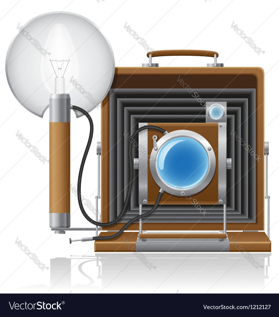 Old camera 01 vector