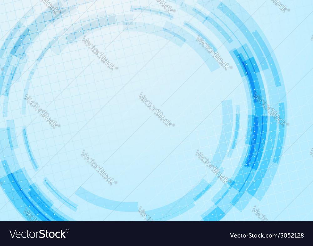Blue technology gear modeling background vector