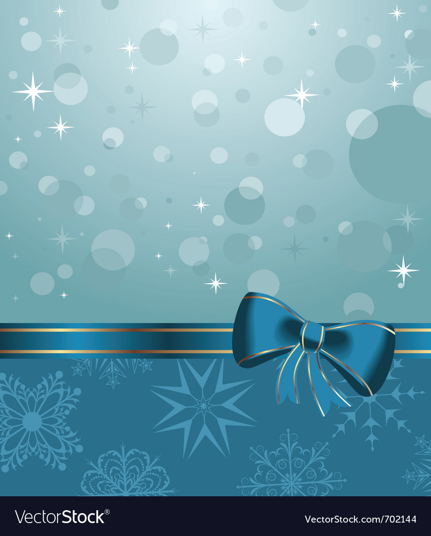 Christmas background or holiday packing - vector