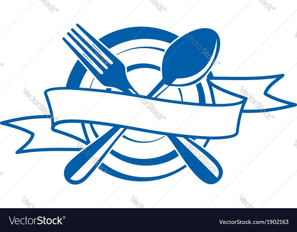 Restaurant banner vector