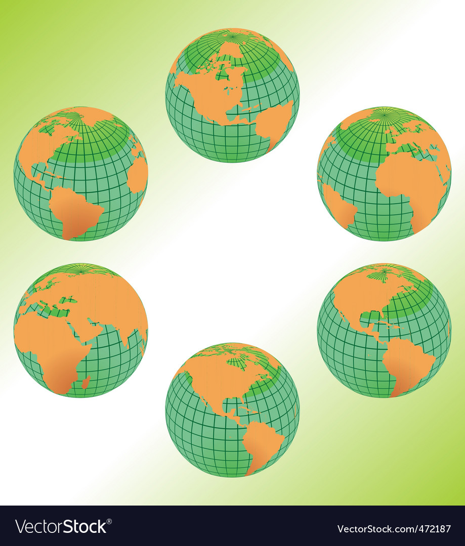 Geography maps vector