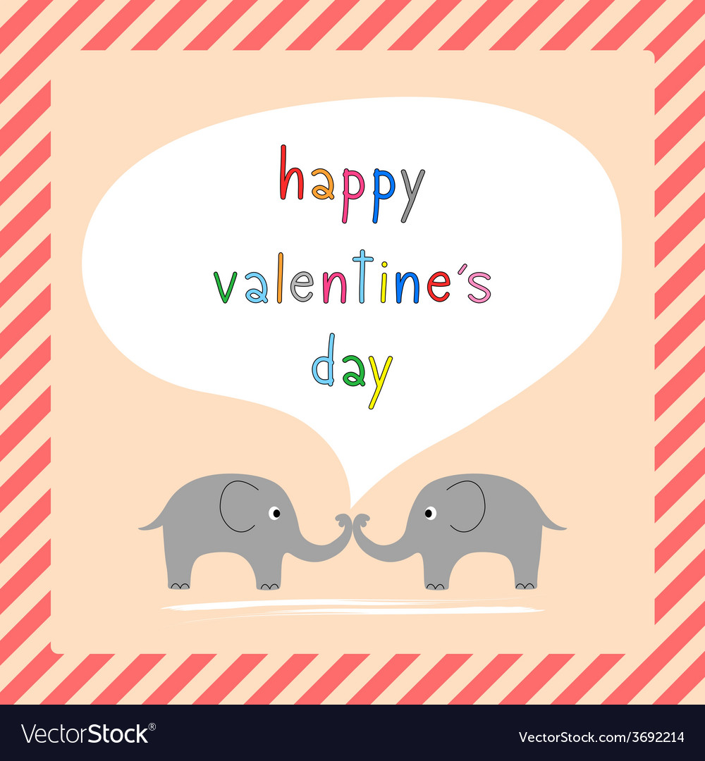 Happy valentine s day card8 vector