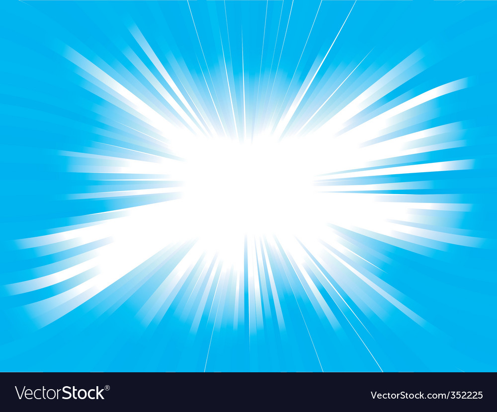 Beautiful glow vector