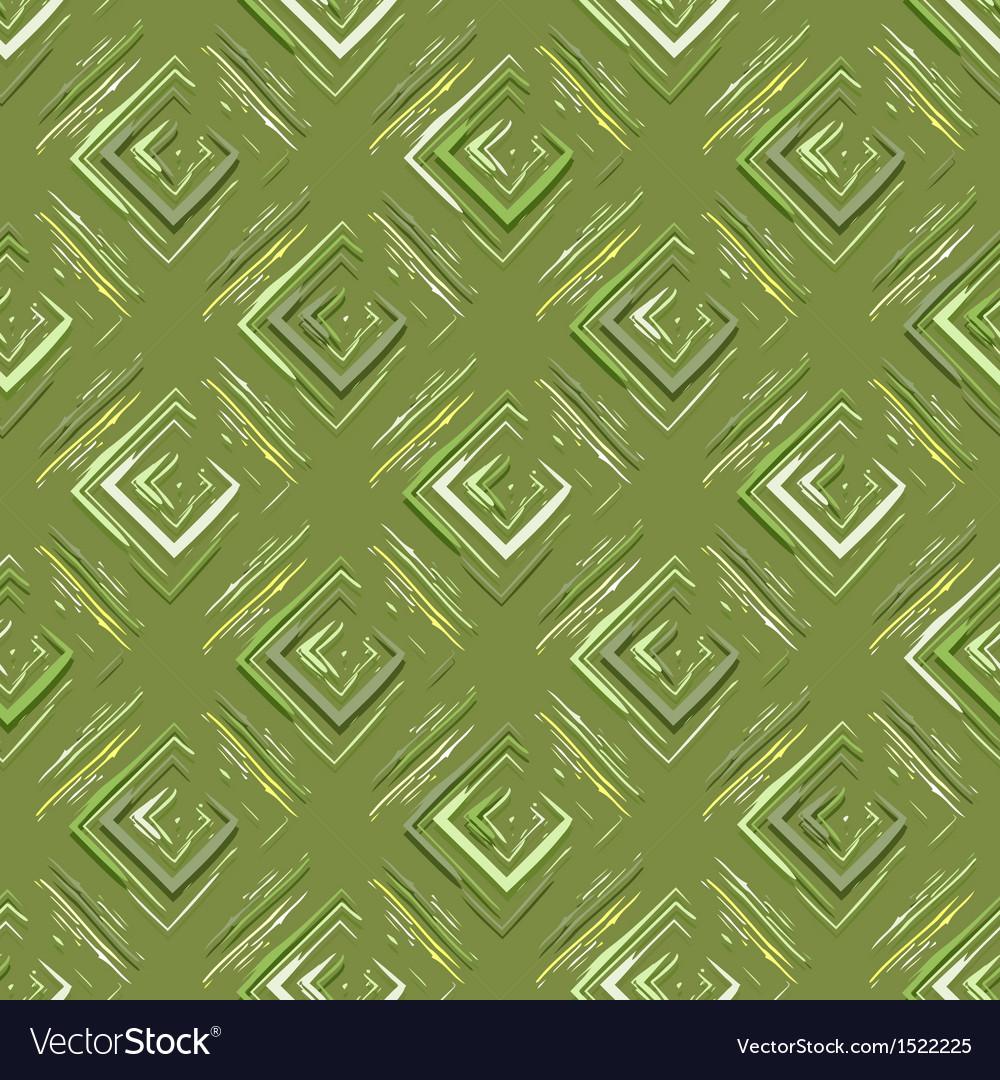 Grungy geometric pattern vector