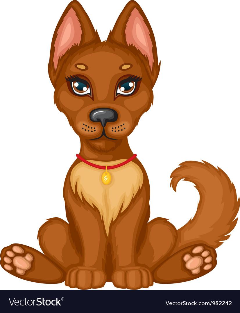 Puppy vector