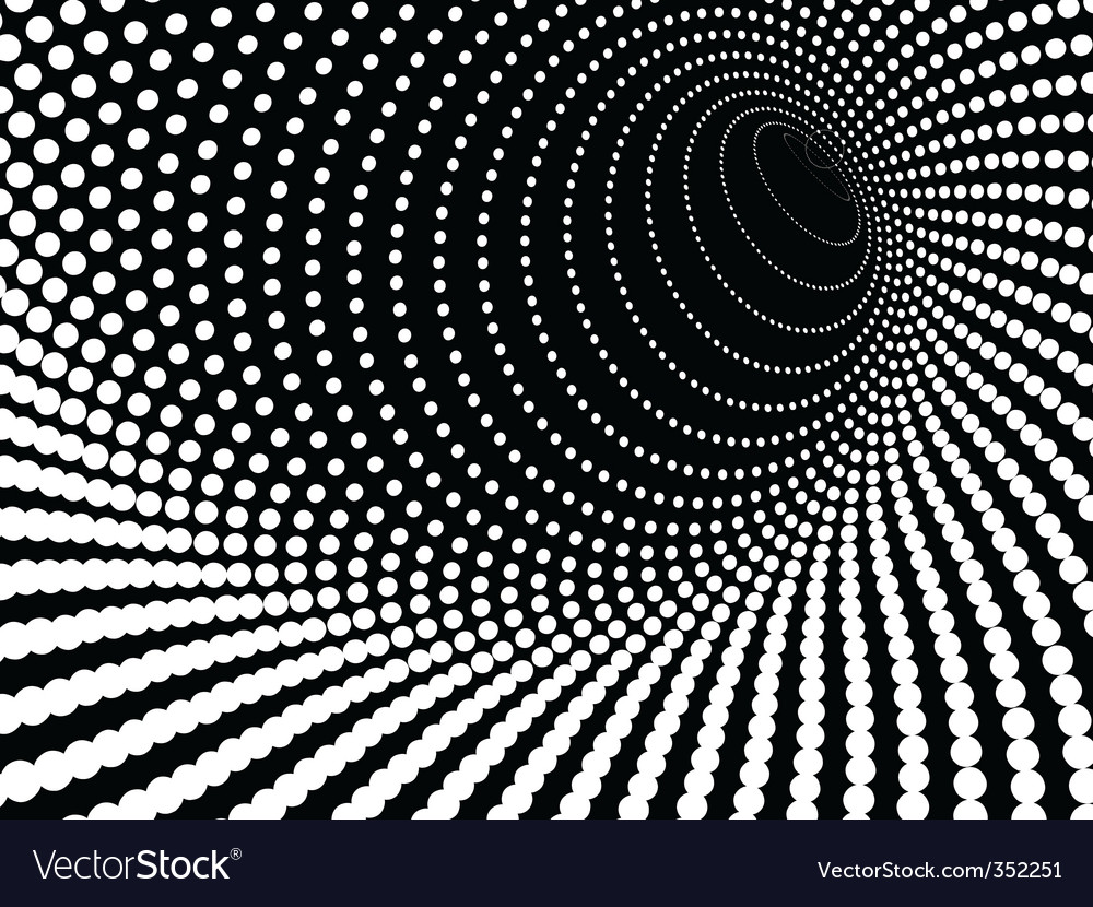 Warped hole vector